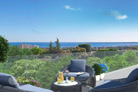 New homes for sale in Antibes. Bright apartment with spacious terrace in a new residence Antibes, Côte d'Azur, France