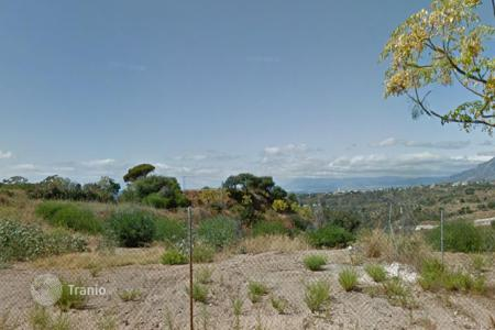 Development land for sale in Europe. Land with sea view and building allowance in Marbella, Malaga, Spain