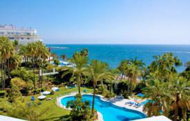 Luxury 2 bedroom apartments for sale in Costa del Sol. Two-bedroom apartment on the first line from the sea Marbella, Costa del Sol, Spain