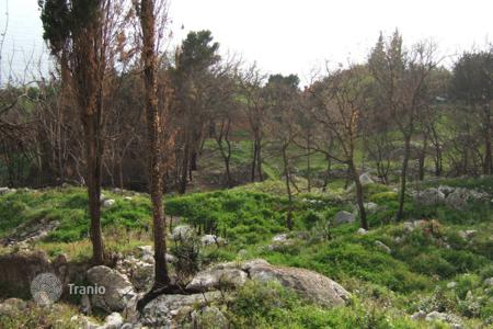 Land for sale in Dubrovnik Neretva County. Cascaded seaview building land, Mlini, Croatia