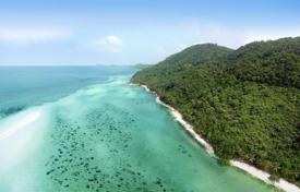 Development land for sale in Thailand. The site overlooks the bay near Taling Ngam