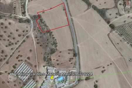 Land for sale in Mazotos. Building Land