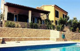 Coastal property for sale in Balearic Islands. Two-storey villa with a swimming pool, Calvia, Spain