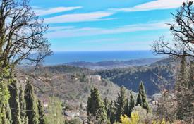 Development land for sale in France. Vence — Plot of land with panoramic sea view