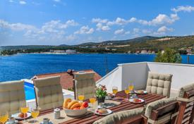 Coastal houses for sale in Croatia. Newly built luxury villa Rogoznica