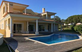 Houses with pools for sale in Portugal. New villa with a pool in a closed condominium, Vilamoura, Portugal
