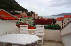 2 bedroom apartments by the sea for sale in Rafailovici. Furnished apartment with panoramic sea views, 200 meters from the beach, Rafailovici, Montenegro
