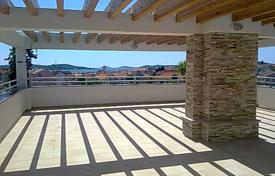 Coastal property for sale in Sibenik. Modern apartment with a parking, a terrace and a sea view, Croatia