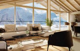 Penthouses for sale in Austrian Alps. Penthouse with a fireplace, a sauna and a large terrace in a new residential complex, near the lift, Hollersbach, Salzburg, Austria