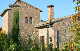 Three-storey stone villa with a tower in Montepulciano, Tuscany, Italy for 749,000 €
