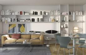 Apartments with pools for sale in Barcelona. Apartment with two bedrooms in a new house, Les Corts, Barcelona, Spain