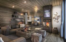 Luxury new homes for sale in France. Furnished apartment with terrace and balconies, in a new residence with a garage, in the ski resort of Meribel, Savoie, France