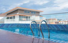 Cheap residential for sale in Southeastern Asia. New apartment with high-quality finishing, in a modern condominium with a roof-top terrace and a swimming pool, Pattaya, Thailand