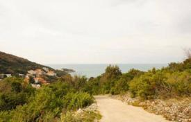 Coastal development land for sale in Ulcinj. Urbanized plot 200 m to the beach in Utjeha