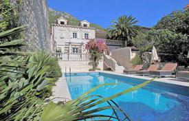 Furnished villa with a private garden, a pool, a terrace and a sea view, Perast, Montenegro for 2,500,000 €