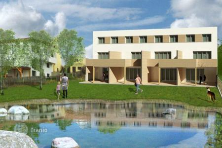 New homes for sale in Lower Austria. Comfortable townhouse with terrace and garden, Neusiedl, Austria