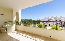 2 bedroom apartments for sale in Alicante. New two-bedroom high class apartment with a large terrace in Sierra Cortina, suburb of Benidorm, Costa Blanca