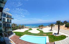 Apartments with pools for sale in Protaras. Apartments on the first line to the sea in Protaras, on Cyprus