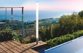 5 bedroom houses by the sea for sale in Costa del Garraf. Four-level house with panoramic sea views in Sitges, Spain