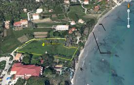 Luxury residential for sale in Zakinthos. Zakynthos. Seaside plot 5,485 m² within the village plans, for sale