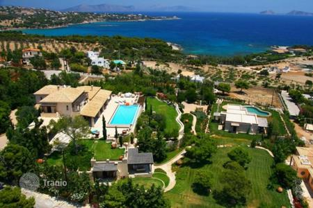 Luxury houses with pools for sale in Greece. Villa with guest house, separate apartment and panoramic sea views in the exclusive area close to the villas of celebrities, Porto Heli