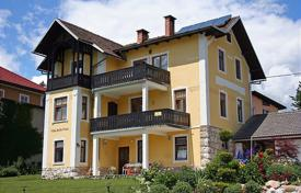 Residential for sale in Bled. This is a wonderful old Bled Villa, completely restored and improved upon. Lake and island views.