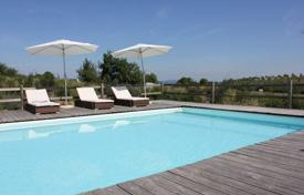 Restored villa with a swimming pool and a garden in a prestigious area, in the heart of Tuscany, Italy. Price on request