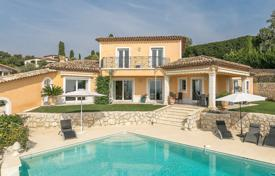 Houses with pools for sale in Grasse. Cannes Backcountry — Villa with amazing view