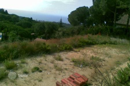 Development land for sale in Costa del Maresme. Development land – Sant Andreu de Llavaneres, Catalonia, Spain