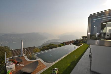 Houses with pools for sale in Central Europe. Villa – Vernate, Ticino, Switzerland
