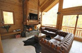 Two-storey chalet with a terrace and mountain views in the resort of Les Gets, France for 4,400 € per week