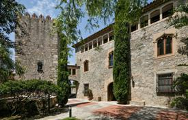 Luxury 6 bedroom houses for sale in Catalonia. Historic estate of the 17th century with a pool, gardens and several buildings, Cabrils, Spain