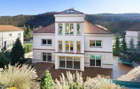 5 bedroom houses for sale in Prague. Comfortable villa with a terrace, a pool and well-kept garden in a secure residence in a prestigious area, Dejvice, Prague, Czech Republic