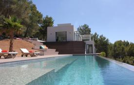 Property for sale in Sant Josep de sa Talaia. Exquisite, stunning minimalist Villa situated in one of the most exclusive areas of Ibiza, enjoys breathtaking sea views.