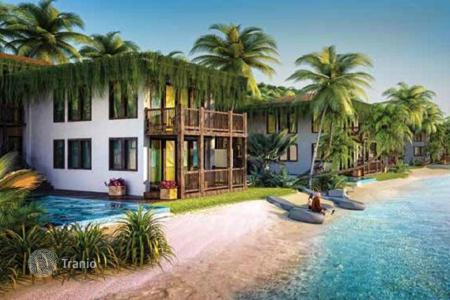 3 bedroom off-plan houses for sale overseas. Three-bedroom villa in Phu Quoc, Vietnam. High-end beachfront residential complex with clubs and business center. Guaranteed rental income!