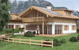 Residential from developers for sale in Germany. New cottage from the builder in the ski resort of Garmisch-Partenkirchen, Germany