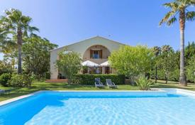 Houses for sale in Alcudia. Modernistic villa with pool and gorgeous garden within 5 minutes drive to the lovely beach, Alcudia, Mallorca, Spain