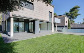 5 bedroom houses for sale in Barcelona. Three-storey villa with terraces, sea views and a parking, Barcelona, Spain