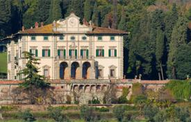 Houses with pools for sale in Florence. The estate of the 19th century with vast areas of land, including forests, vineyards and olive groves in Tuscany