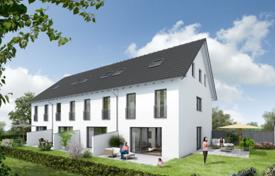 Off-plan residential for sale in Bavaria. Cozy townhouse with a terrace and a garden, Munich, Bavaria, Germany
