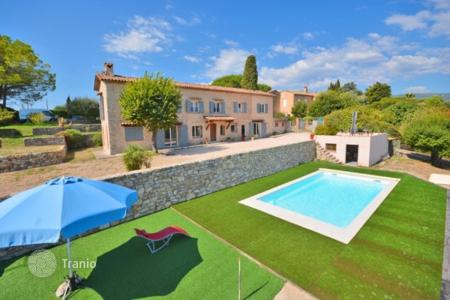 Cheap 4 bedroom houses for sale in France. Villa – Grasse, Côte d'Azur (French Riviera), France