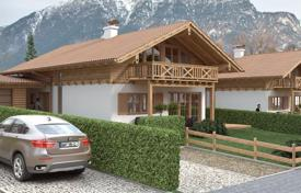 4 bedroom houses from developers for sale in Bavaria. New cottage with garden and parking from the builder in the ski resort of Garmisch-Partenkirchen, Germany