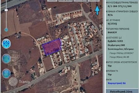 Land for sale in Famagusta. PLOT OF LAND FOR SALE