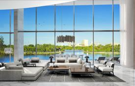 Two-level loft with terraces, a swimming pool and a private boat slip in a guarded river residence with a large club, Fort Lauderdale, USA for 5,250,000 $
