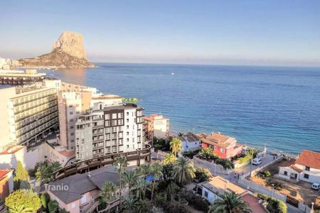 1 bedroom apartments by the sea for sale in Calpe. 1, 2 and 3 bedroom apartments with terrace with panoramic sea views 50 metres to the beach in Calpe