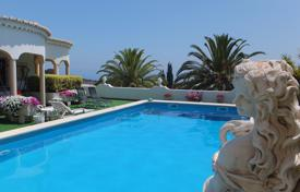 5 bedroom houses for sale in Algarve. Spacious 2 bedroom villa, plus 2 apartments and pool with sea views, Burgau