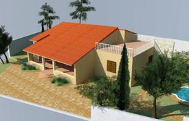 Property for sale in Solta. Unfinished villa with a patio, a terrace and a sea view, Solta, Croatia