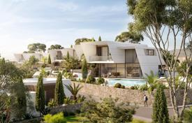 Five-bedroom villa with a pool and sea views in an elite residential complex under construction, Mouttagiaka, Limassol, Cyprus for 1,360,000 €