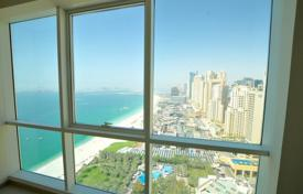 Property for sale in UAE. Bright and cozy apartment with a view of the sea and the beach at Jumeirah Beach Residence area
