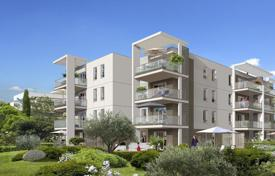 Cheap new homes for sale in Côte d'Azur (French Riviera). Apartment in a new comfortable build in Cagnes-sur-Mer on the Cote d'-Azur